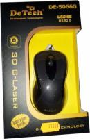 Мышь DeTech DE-5066G