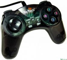 Геймпад DeTech NS 3113A черный