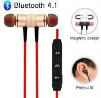 Магнитные Наушники Bluetooth V4.1 M9 Металлические Блютуз Водонепроницаемые
