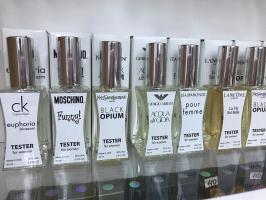 Мини-парфюмы Тестер 60 мл. Женские и мужские, большой выбор