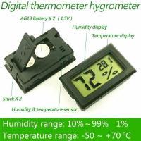 Гигрометр Цифровой Термометр Высокой Точности Влагомер + 2 батарейки