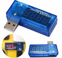 Цифровой USB Тестер Вольтметр Амперметр Контроль Зарядки Доктор