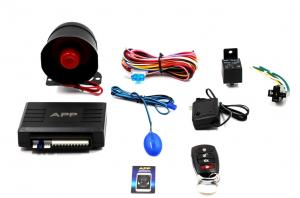 Универсальная автомобильная сигнализация Car Alarm 2 Way KD 3000 bluetooth APP с сиреной