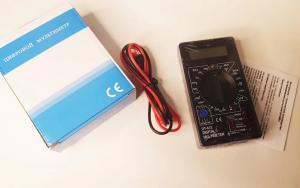 Тестер, мультиметр DT832 цифровой, с прозвонкой