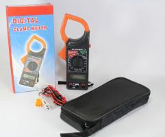 DT-266C / 1000A AC / токоизмерительные клещи / тестер / с функцией мультиметра + температура