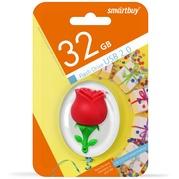 Флеш-драйв Smart Buy USB 32GB Wild series Роза