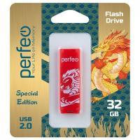 USB накопитель Perfeo 32GB C04 Red Lion